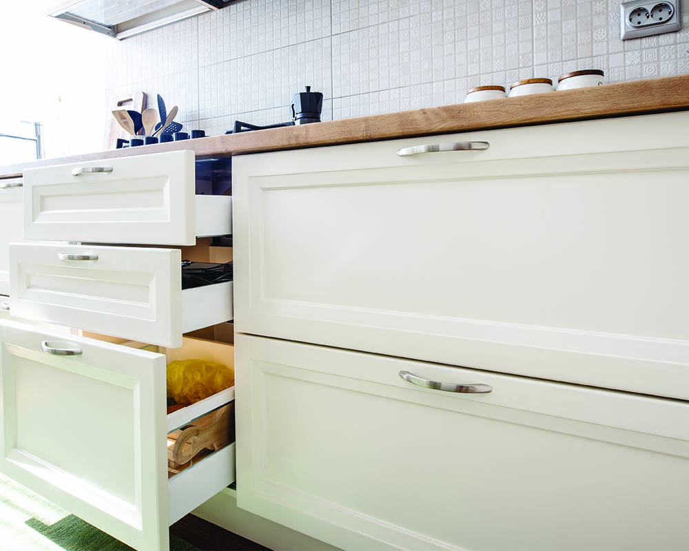 White Cabinets from Showplace