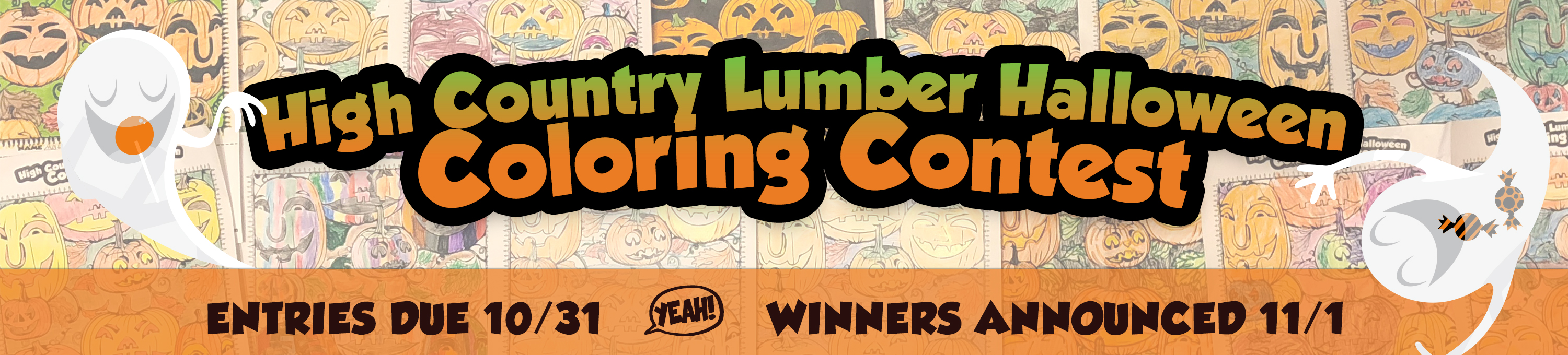 High Country Lumber Coloring Contest