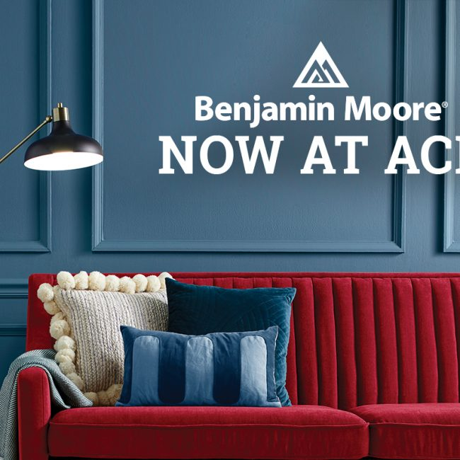 Benjamin Moore Now At Ace