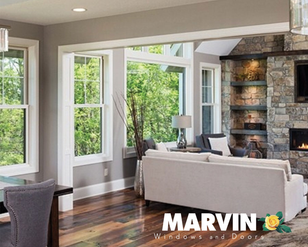 white window frames Marvin Windows