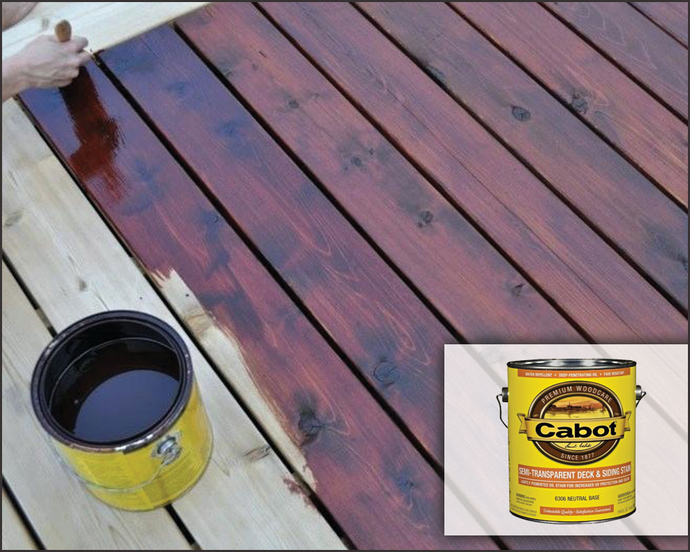 Cabot Deck and exterior stain