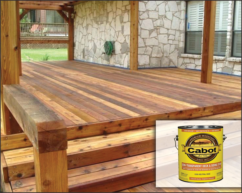 Cabot Translucent Deck Stain