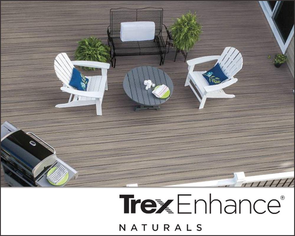 Trex composite decking - Enhance Naturals