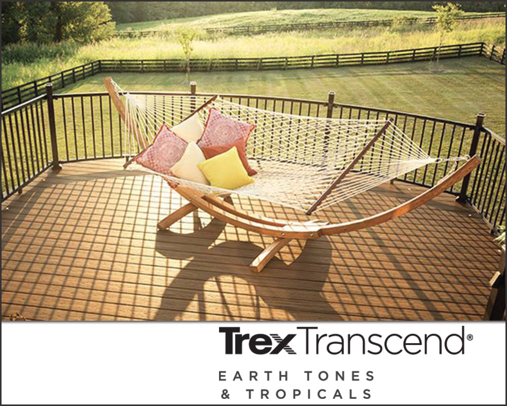 Trex composite decking - Transcends Earth Tones and Tropical Tones