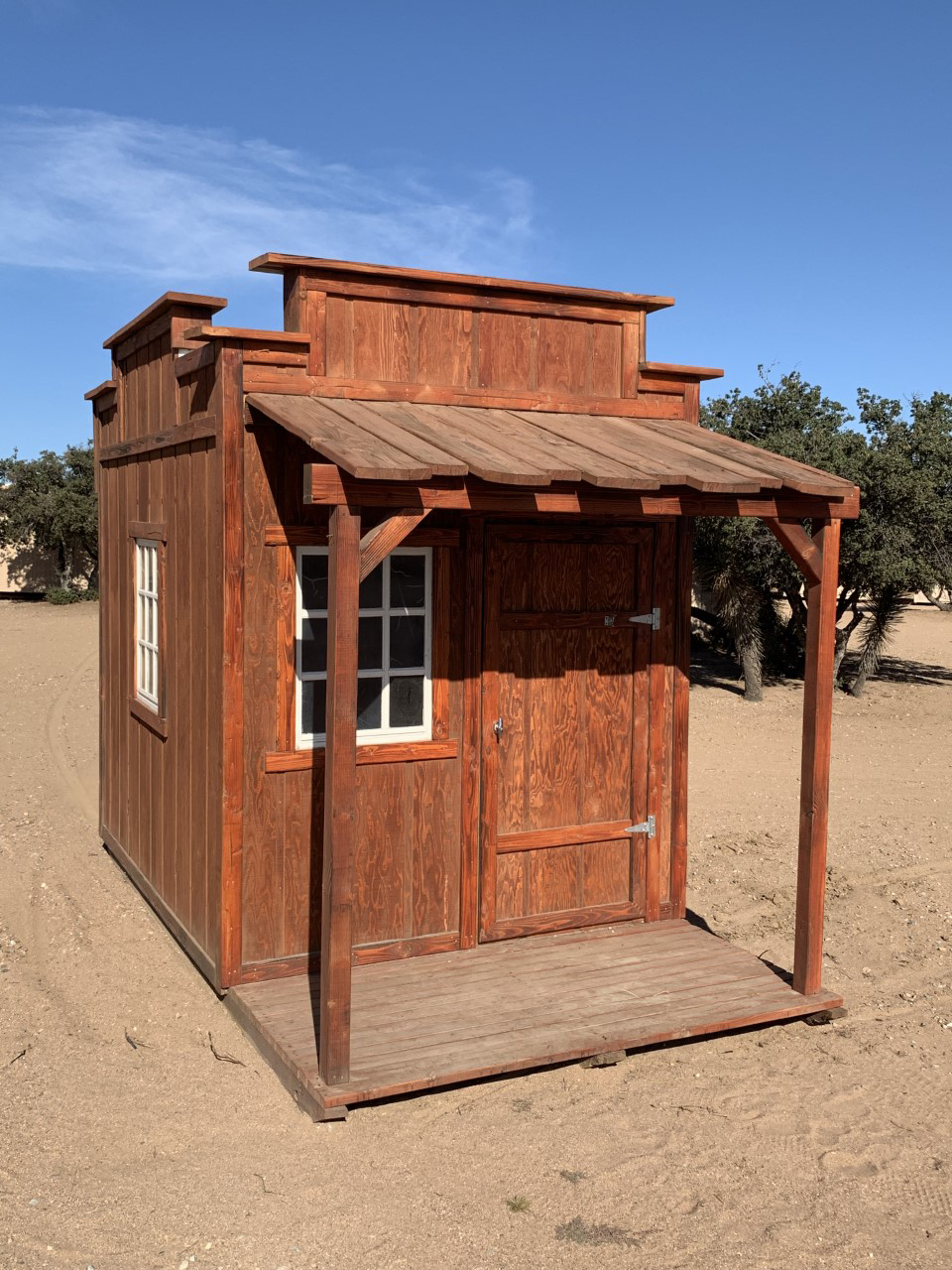 Triple Facade Storage Shed